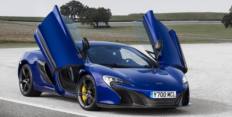 Car-Revs-Daily.com 2014 McLaren 650S Coupe and Spider Launch Ascari Circuit 126