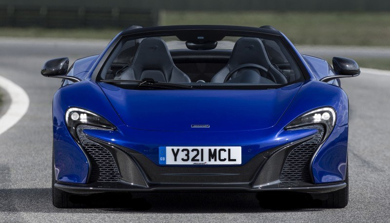 Car-Revs-Daily.com 2014 McLaren 650S Coupe and Spider Launch Ascari Circuit 127