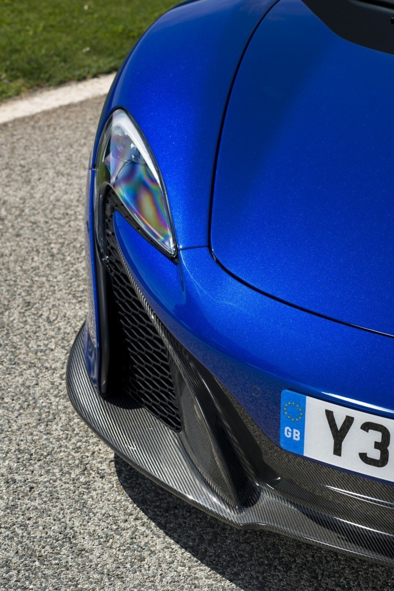 Car-Revs-Daily.com 2014 McLaren 650S Coupe and Spider Launch Ascari Circuit 132