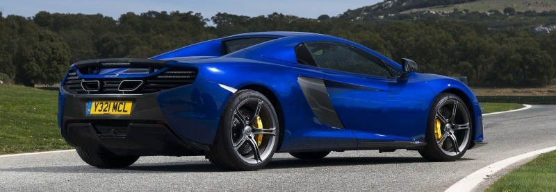 Car-Revs-Daily.com 2014 McLaren 650S Coupe and Spider Launch Ascari Circuit 134
