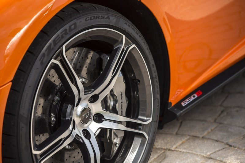 Car-Revs-Daily.com 2014 McLaren 650S Coupe and Spider Launch Ascari Circuit 139