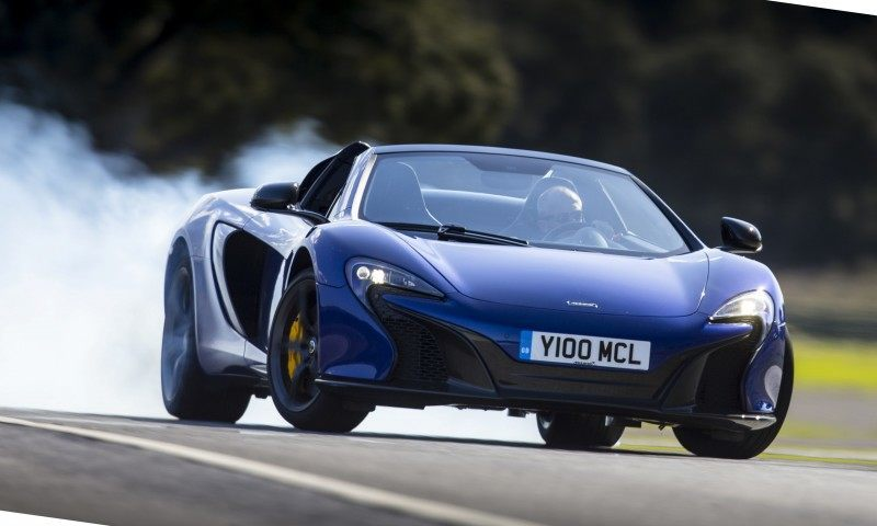 Car-Revs-Daily.com 2014 McLaren 650S Coupe and Spider Launch Ascari Circuit 17