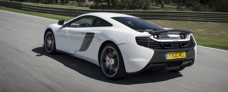 Car-Revs-Daily.com 2014 McLaren 650S Coupe and Spider Launch Ascari Circuit 35