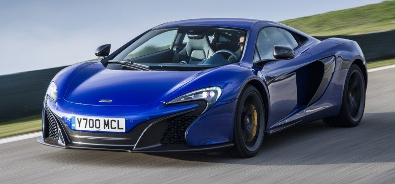 Car-Revs-Daily.com 2014 McLaren 650S Coupe and Spider Launch Ascari Circuit 41