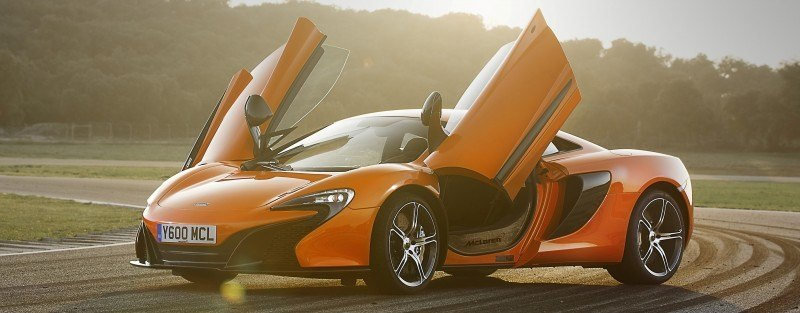 Car-Revs-Daily.com 2014 McLaren 650S Coupe and Spider Launch Ascari Circuit 44