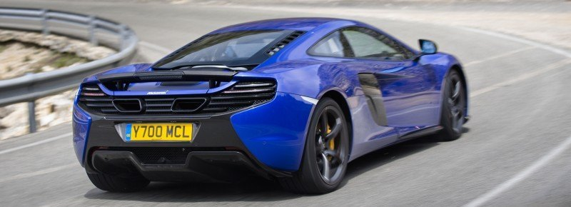 Car-Revs-Daily.com 2014 McLaren 650S Coupe and Spider Launch Ascari Circuit 46