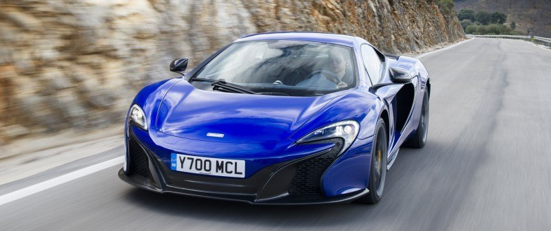 Car-Revs-Daily.com 2014 McLaren 650S Coupe and Spider Launch Ascari Circuit 48