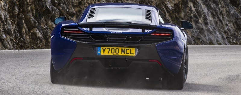 Car-Revs-Daily.com 2014 McLaren 650S Coupe and Spider Launch Ascari Circuit 49