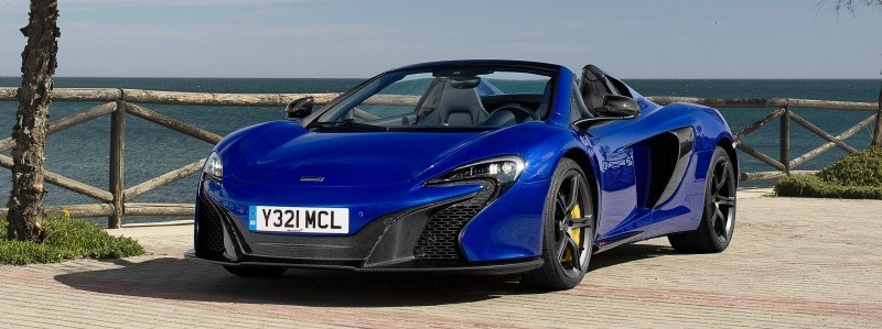 Car-Revs-Daily.com 2014 McLaren 650S Coupe and Spider Launch Ascari Circuit 74