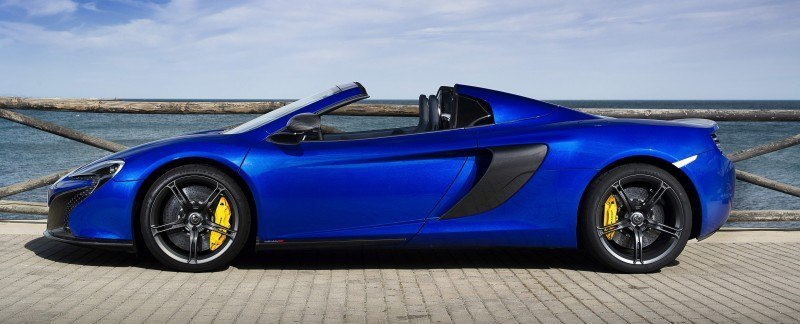 Car-Revs-Daily.com 2014 McLaren 650S Coupe and Spider Launch Ascari Circuit 75