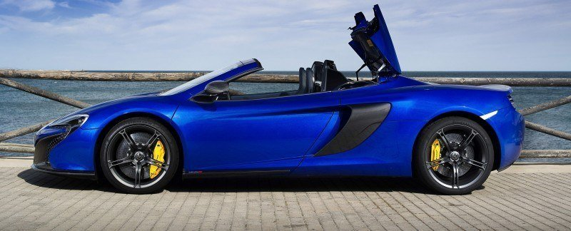 Car-Revs-Daily.com 2014 McLaren 650S Coupe and Spider Launch Ascari Circuit 76