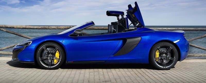 Car-Revs-Daily.com 2014 McLaren 650S Coupe and Spider Launch Ascari Circuit 77