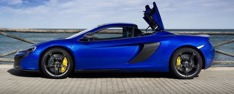 Car-Revs-Daily.com 2014 McLaren 650S Coupe and Spider Launch Ascari Circuit 78