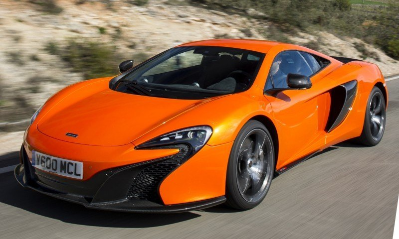 Car-Revs-Daily.com 2014 McLaren 650S Coupe and Spider Launch Ascari Circuit 81