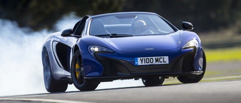 Car-Revs-Daily.com 2014 McLaren 650S Coupe and Spider Launch Ascari Circuit 90