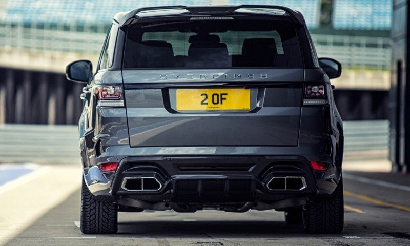 Car-Revs-Daily.com 2014 Overfinch Range Rover Sport 8