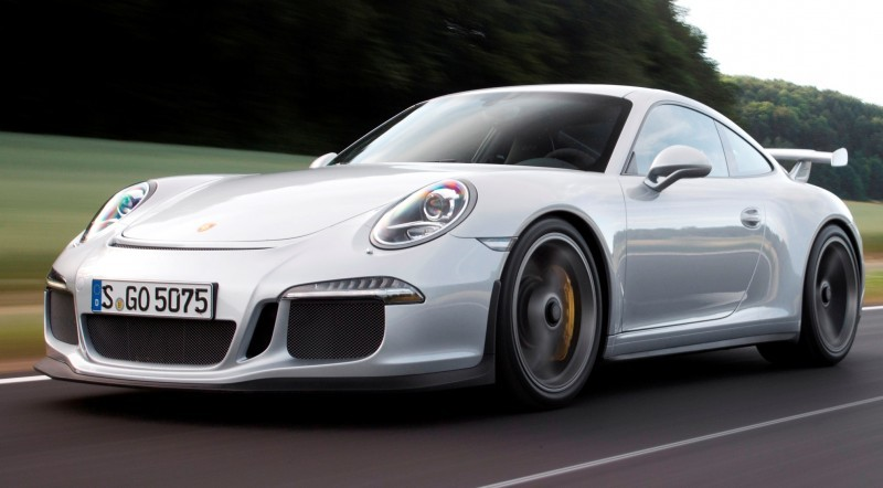 Car-Revs-Daily.com 2014 Porsche 911 GT3 is Race-Ready Street Car 8