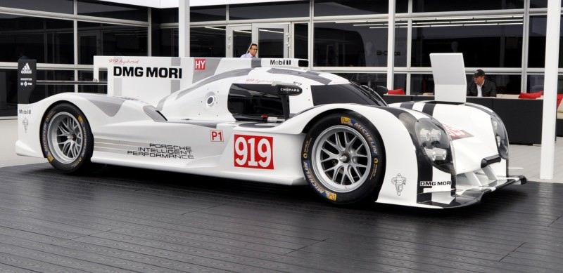 Car-Revs-Daily.com 2014 Porsche 919 LMP1 Racecar at the Quail 1