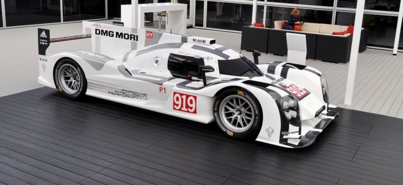 Car-Revs-Daily.com 2014 Porsche 919 LMP1 Racecar at the Quail 104