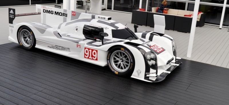 Car-Revs-Daily.com 2014 Porsche 919 LMP1 Racecar at the Quail 105