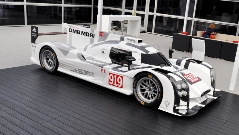Car-Revs-Daily.com 2014 Porsche 919 LMP1 Racecar at the Quail 106