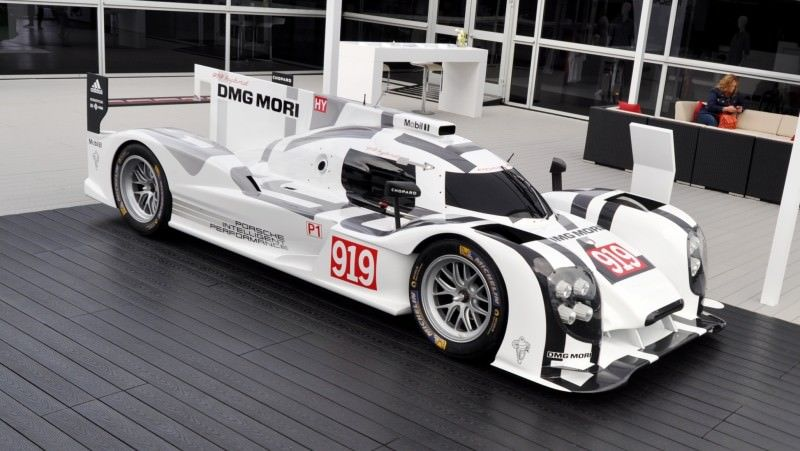 Car-Revs-Daily.com 2014 Porsche 919 LMP1 Racecar at the Quail 107