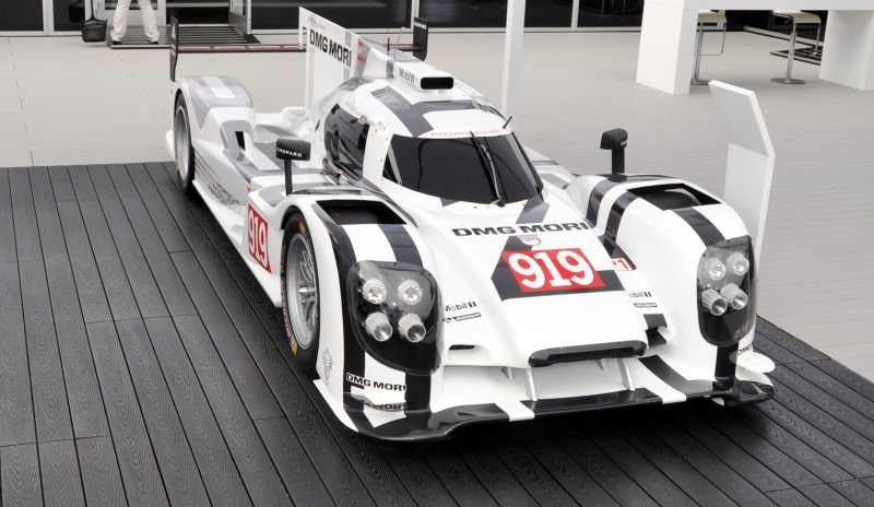 Car-Revs-Daily.com 2014 Porsche 919 LMP1 Racecar at the Quail 108