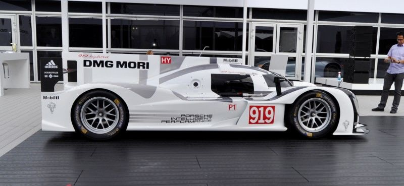 Car-Revs-Daily.com 2014 Porsche 919 LMP1 Racecar at the Quail 11