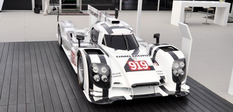 Car-Revs-Daily.com 2014 Porsche 919 LMP1 Racecar at the Quail 110