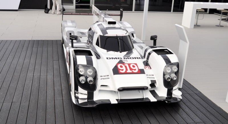 Car-Revs-Daily.com 2014 Porsche 919 LMP1 Racecar at the Quail 112