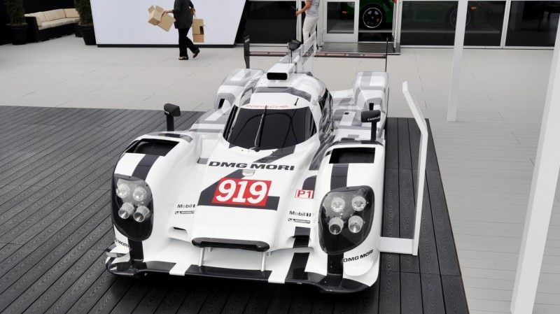 Car-Revs-Daily.com 2014 Porsche 919 LMP1 Racecar at the Quail 116