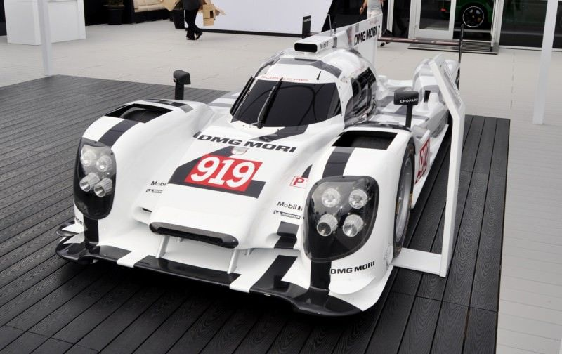 Car-Revs-Daily.com 2014 Porsche 919 LMP1 Racecar at the Quail 117