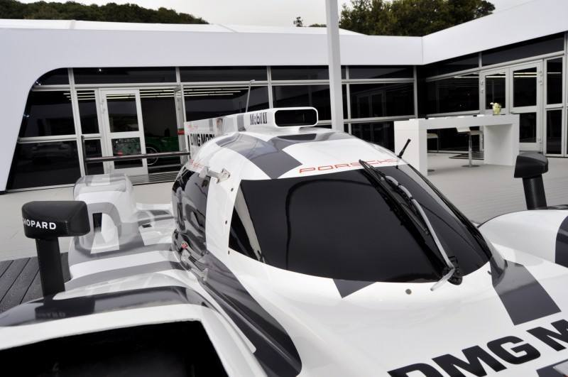 Car-Revs-Daily.com 2014 Porsche 919 LMP1 Racecar at the Quail 121