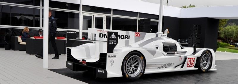 Car-Revs-Daily.com 2014 Porsche 919 LMP1 Racecar at the Quail 16