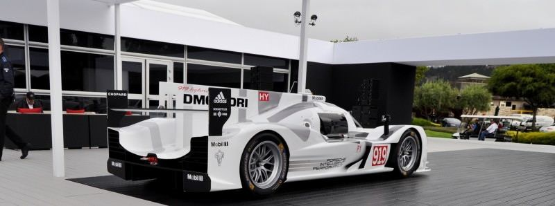 Car-Revs-Daily.com 2014 Porsche 919 LMP1 Racecar at the Quail 17