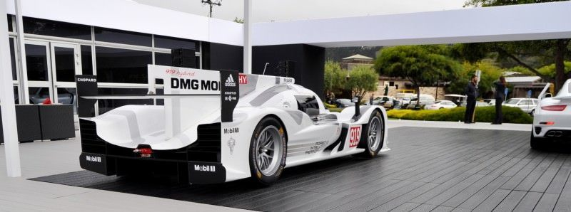 Car-Revs-Daily.com 2014 Porsche 919 LMP1 Racecar at the Quail 19