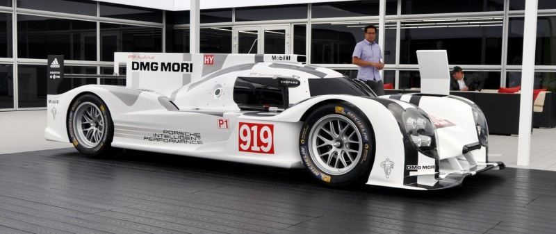 Car-Revs-Daily.com 2014 Porsche 919 LMP1 Racecar at the Quail 2