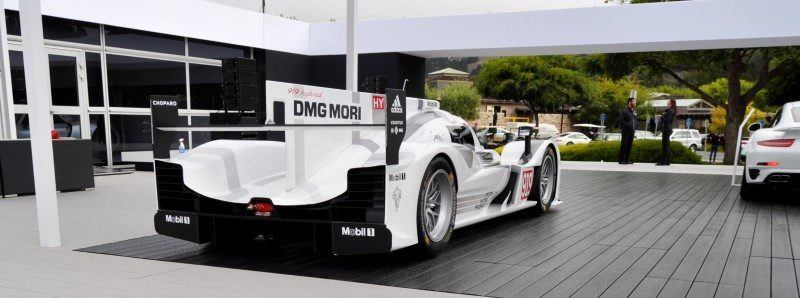 Car-Revs-Daily.com 2014 Porsche 919 LMP1 Racecar at the Quail 20