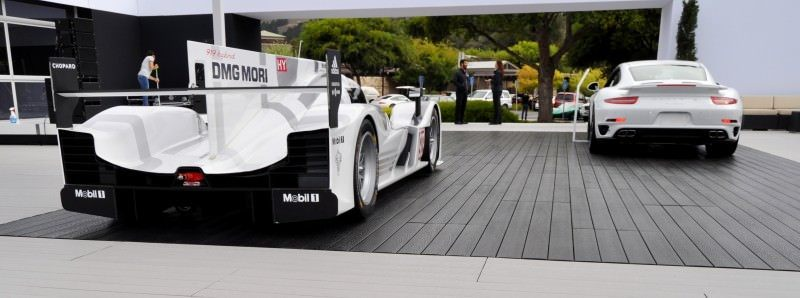 Car-Revs-Daily.com 2014 Porsche 919 LMP1 Racecar at the Quail 21