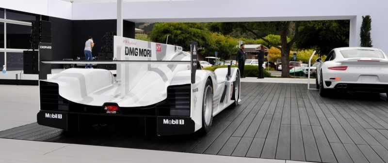 Car-Revs-Daily.com 2014 Porsche 919 LMP1 Racecar at the Quail 22