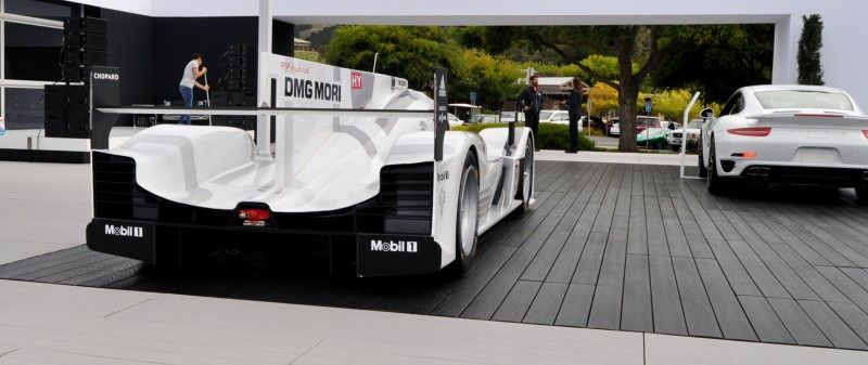 Car-Revs-Daily.com 2014 Porsche 919 LMP1 Racecar at the Quail 23