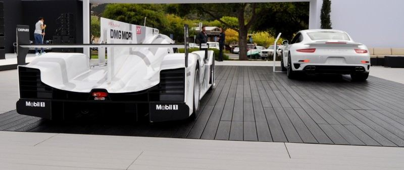 Car-Revs-Daily.com 2014 Porsche 919 LMP1 Racecar at the Quail 24