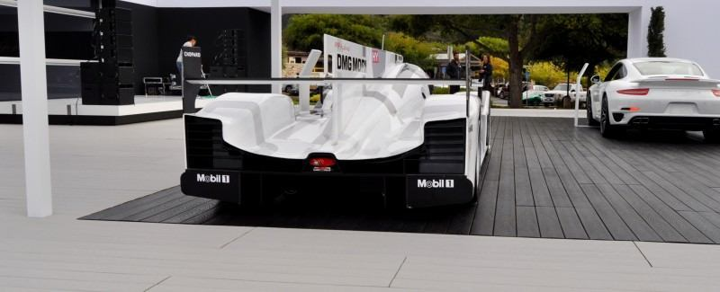 Car-Revs-Daily.com 2014 Porsche 919 LMP1 Racecar at the Quail 25