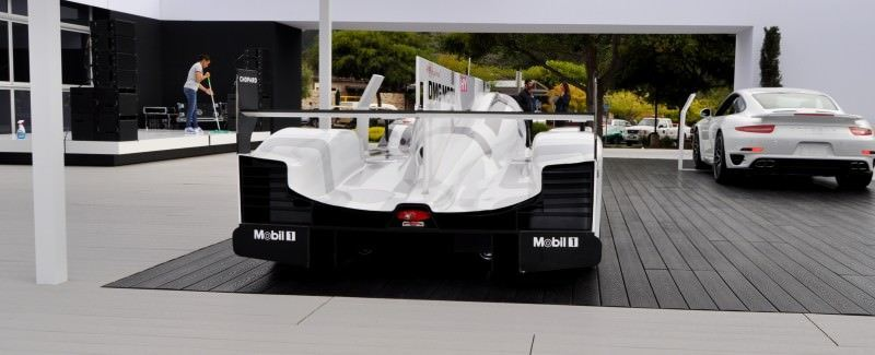 Car-Revs-Daily.com 2014 Porsche 919 LMP1 Racecar at the Quail 26