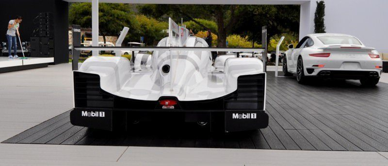 Car-Revs-Daily.com 2014 Porsche 919 LMP1 Racecar at the Quail 27