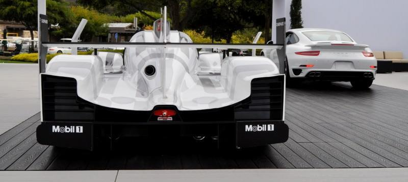 ... Car Revs Daily.com 2014 Porsche 919 LMP1 Racecar At The Quail 28 ...