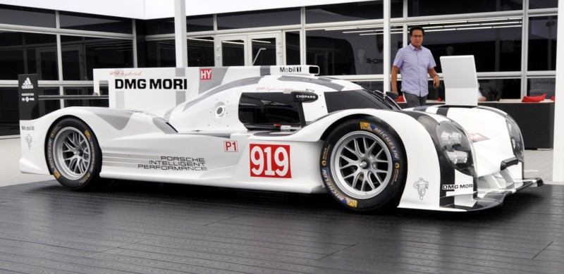 Car-Revs-Daily.com 2014 Porsche 919 LMP1 Racecar at the Quail 3