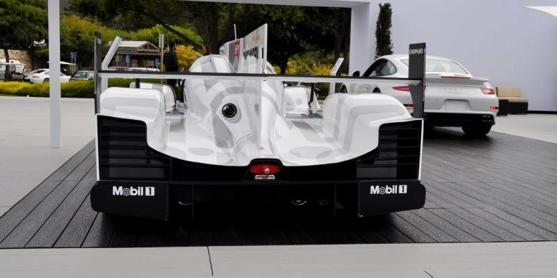 Car-Revs-Daily.com 2014 Porsche 919 LMP1 Racecar at the Quail 30