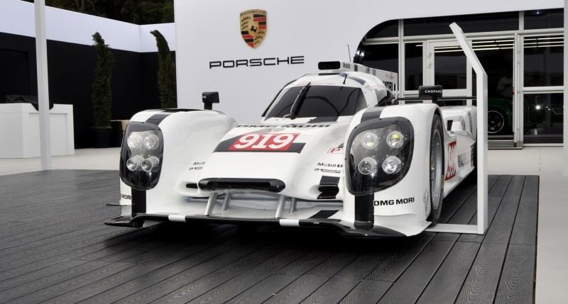 Car-Revs-Daily.com 2014 Porsche 919 LMP1 Racecar at the Quail 37