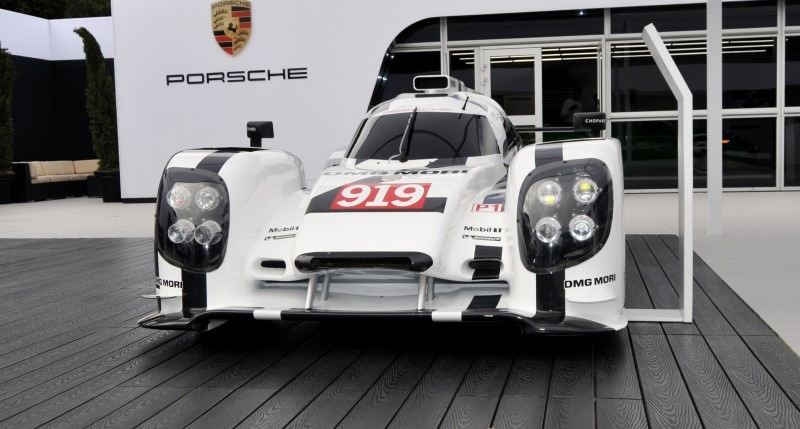 Car-Revs-Daily.com 2014 Porsche 919 LMP1 Racecar at the Quail 38